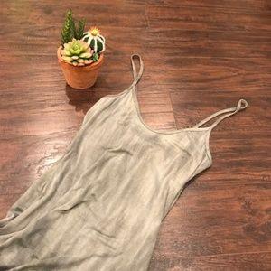 Fashion Nova | green bodycon dress with open back